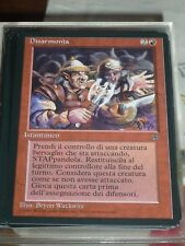 MTG Magic DISARMONIA Unofficial Italian Legends RARE TOP condition