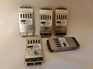 Lot of 5 Cisco Systems 30-0759-01 1000 Base-SX GBIC Transceiver Modules