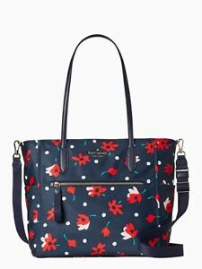$349 Kate Spade Nylon Chelsea Whimsy Floral Baby Bag Multicolor NWT ❤️