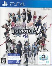 NEW PS4 DISSIDIA Final Fantasy NT w/1st Print Limited BONUS DLC JAPAN import F/S