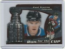 2008-09 Black Diamond #10 Run for the Cup Paul Stastny  /100