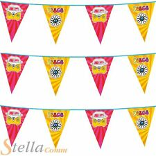 6m Triangular Hippie Peace Campervan 60s Hippy Bunting Party Flag Decoration