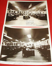 Pair of Black and White 8X10 Photographs From Bell System News Features!