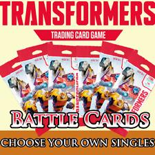 Wave 1 Battle Cards (Transformers TCG Singles)