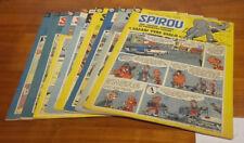 Lot 2 : 8 journaux magazines Spirou entre le 1150 du 28 avril au 1157 de juin 60