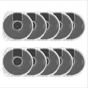 5pcs replacement umd game disc case shell for psp ad ^qi