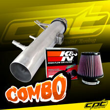 11-14 Ford Mustang 3.7L V6 Polish Cold Air Intake + K&N Air Filter