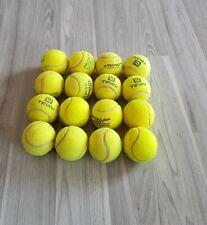 Tennisbälle,16 st.top zustand, gebraucht, für Waschen,Wäschetr., spielen, Hunde,