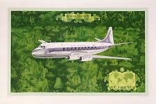 AIR FRANCE - VISCOUNT  -BOUCHER LUCIEN VINTAGE POSTER
