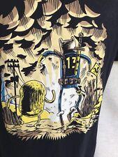 Hybrid Shirt Adventure Time Fallout Anime Shirt Large Black