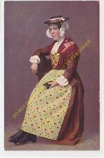 CPA SUISSE Mädchen aus dem Wallis