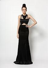 ONO UNO Maze Black Size 8 RRP £295 BNWT Ideal prom / evening / ball dress