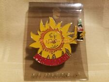 World of Coca Cola Las Vegas Sun Sunburst Souvenir Collector's Lapel Pin