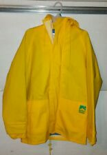 Raincoat HIGH SEAS Sailing Gear Rubber Jacket SMALL Yellow WATERPROOF Marlboro