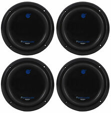 "4) Planet Audio AC8D 8"" 4800w DVC 4-OHM Car Subs Subwoofers Poly Injection Cones"