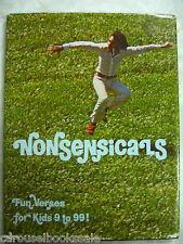 Nonsensicals: Fun Verses for Kids 9 to 99 Dee Barwick Poems Rhymes1972 hcdj A90