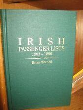 Irish Passenger Lists 1803-1806 New Genealogy Book