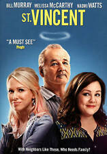 ST VINCENT (DVD) NEW!!!FREE FIRST CLASS SHIPPING !!