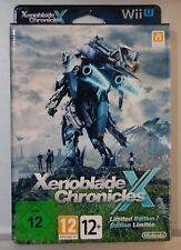 XENOBLADE CHRONICLES X LIMITED EDITION - WII U - V. SPAIN - NEW BRAND NEW
