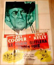 Le train sifflera 3 fois - Gary COOPER / Grace KELLY - Affiche Cinéma (120x160)