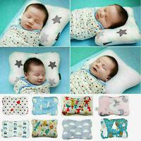 Infant Newborn Baby Ergonomic Pillow Head Support Prevents Flat Head Anti Roll