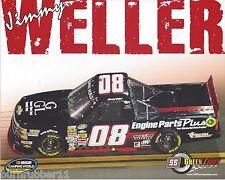 "2014 JIMMY WELLER ""ENGINE PARTS PLUS GREEN LIGHT"" #08 NASCAR TRUCK POSTCARD"