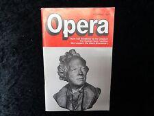 Opera Magazine - November 1987