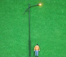 LSL02 5pcs Model Railway Lamppost Lamps Street Lgihts O Scale 16cm 12V New