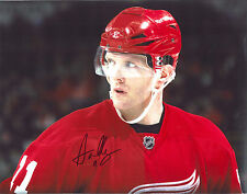 DAN CLEARY signed DETROIT RED WINGS 11x14 PHOTO w/ COA