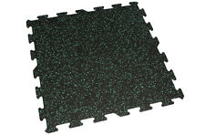 """IncStores Rubber Interlocking Gym Floor Tiles 6mm 24""""x24"""" Tile Sold Individually"""
