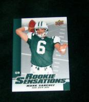 2009 Upper Deck Football Trading Card New York Jets Mark Sanchez Rookie Sensati