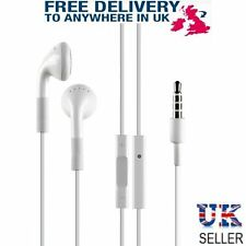White Headphones Remote Mic Earphones Headset Earbuds for i Phone 3 4 5 6  i Pod