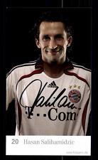 Hasan Salihamidzic Autogrammkarte Bayern München 2006-07 Original Sign+ C 2532