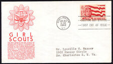 1199 4c Girl Scouts FDC Anderson red cachet July 24,1962 addressed