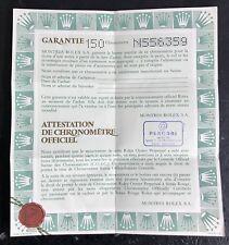Rolex garanzia certificato N556359 69190 Donna OYSTER PERPETUAL DATE ACCIAIO OEM