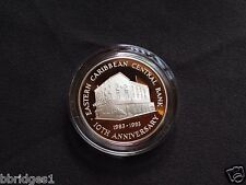 Eastern East Caribbean States $10 Dollar Silver Commemorative Coin 1993 - Proof