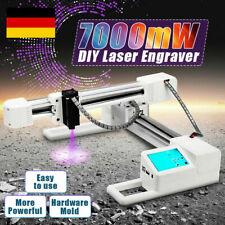 7000 mW DIY Laser Gravur Engraver Logo Mark Drucker Cutter 155 x 175 mm