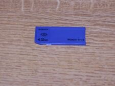 Sony 32 MB Memory Stick Card