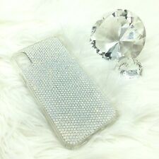 12ss WHITE OPAL Bling Rhinestone Back Case for iPhone 11 w/Swarovski Crystals