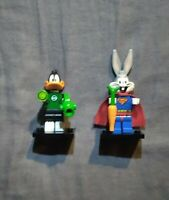 Lego Looney Tunes Minifigures Lot Super Rabbit and The Green Loontern