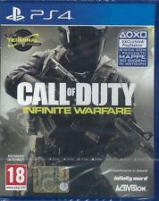 GIOCO PS4 CALL OF DUTY INFINITE WARFARE MAPPA TERMINAL NUOVO ITALIANO SIGILLATO