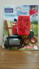 LIXIT GROOMING KIT BRUSH NAIL TRIMMER CHEWS SMALL ANIMALS.