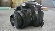 Canon EOS 70D 20.2MP Digital SLR Camera (multiple lenses, bag, accessories)