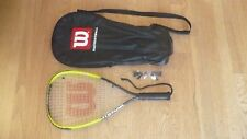 Wilson Hornet Titanium Injection Racquetball Racket with Goggles