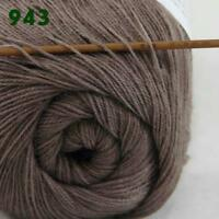 Sale New 1ballx50g LACE Soft Crochet Acrylic Wool Cashmere hand knitting Yarn 43