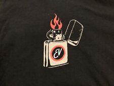 EDDIE VEDDER - ev Zippo 2014 Australia Tour T-Shirt Size XL - pearl jam WOW