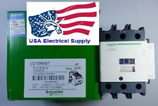 LC1D80G7C Schneider Contactor Coil 120VAC,  50/60Hz 80A