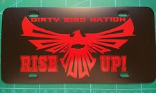 Atlanta Falcons Dirty Birds Rise Up Car Tag Plate-Chevy,Honda,Toyota,Dodge,Benz