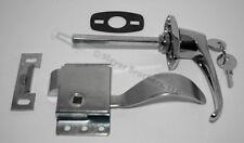 Cab Door Repair Kit! Handle, LH Latch, Gasket & Striker Plate - FREE US SHIPPING