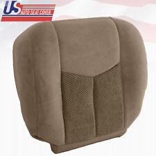 2003 2004 Chevy Silverado 3500 Driver Bottom Replacement Cloth Seat Cover Tan
